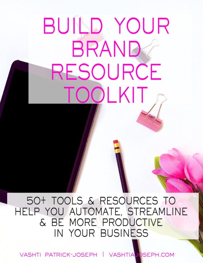 Build Your Brand Toolkit